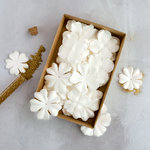 Prima - Flower Embellishments - Box - Purity