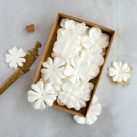 Prima - Flower Embellishments - Box - Purity