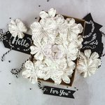 Prima - Flower Embellishments - Box - Noted