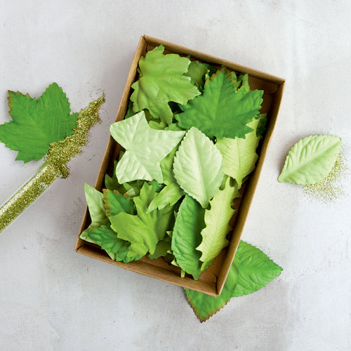 Prima - Flower Embellishments - Box - Crisp Foliage II