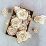 Prima - Flower Embellishments - Box - Rose Gold Kiss