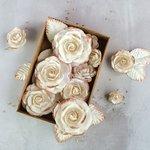 Prima - Flower Embellishments - Box - Rose Gold Kiss