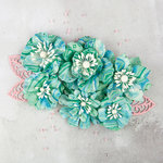 Prima - Flower Embellishments - Onyx