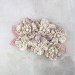 Prima - Flower Embellishments - Noir Belge