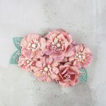 Prima - Flower Embellishments - Slate