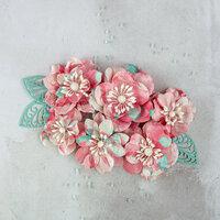 Prima - Flower Embellishments - Bordo Grizo