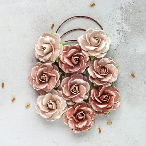 Prima - Flower Embellishments - Solid Rose