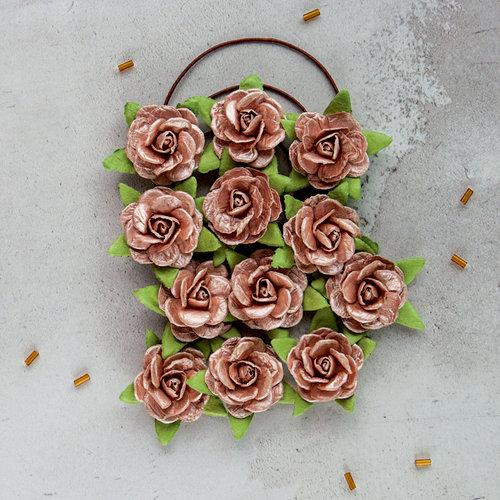 Prima - Flower Embellishments - Blush Gold
