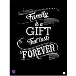Prima - Stencil Mask - 8 x 10 - Family Is A Gift