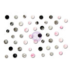 Prima - Rossibelle Collection - Say It In Crystals - Self Adhesive Jewels