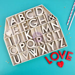 Prima - Wood Alphas - 2 Inches - Love