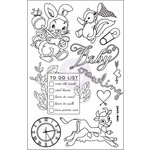 Prima - Heaven Sent Collection - Cling Mounted Stamps