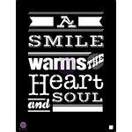 Prima - 9.5 x 12 Stencil - A Smile