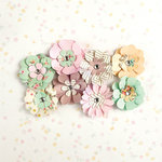 Prima - Heaven Sent Collection - Flower Embellishments - Zoey