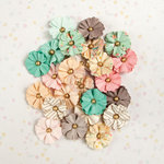 Prima - Heaven Sent Collection - Flower Embellishments - Ellie