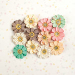 Prima - Heaven Sent Collection - Flower Embellishments - Stella