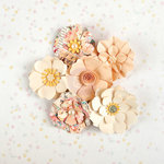 Prima - Heaven Sent Collection - Flower Embellishments - Aurora