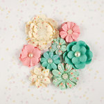 Prima - Heaven Sent Collection - Flower Embellishments - Lidia