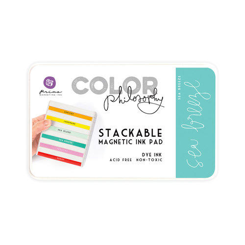 Prima - Color Philosophy - Stackable Magnetic Ink Pad - Sea Breeze