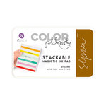 Prima - Color Philosophy - Stackable Magnetic Ink Pad - Sepia