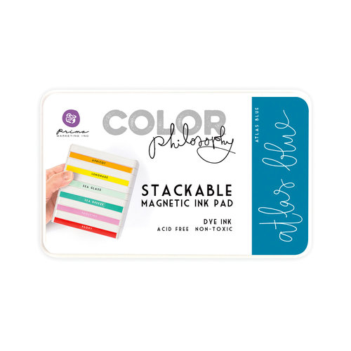 Prima - Color Philosophy - Stackable Magnetic Ink Pad - Atlas Blue