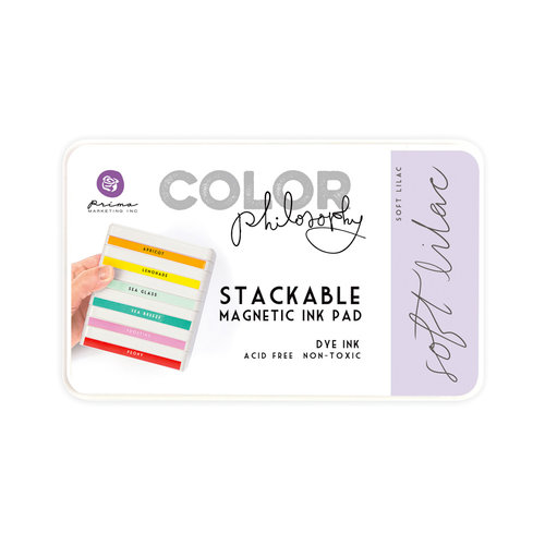 Prima - Color Philosophy - Stackable Magnetic Ink Pad - Soft Lilac