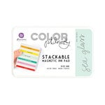 Prima - Color Philosophy - Stackable Magnetic Ink Pad - Sea Glass