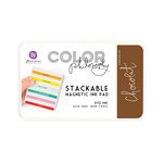 Prima - Color Philosophy - Stackable Magnetic Ink Pad - Chocolat