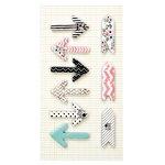 Prima - Love Faith Scrap Collection - Arrow Stickies