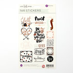 Prima - Love Faith Scrap Collection - Cardstock Stickers