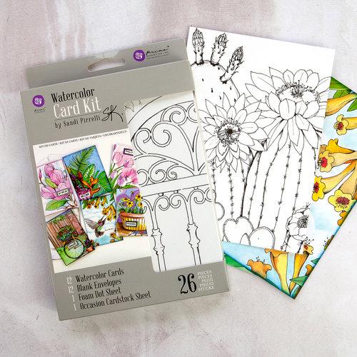 Prima - Watercolor Card Kit