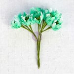 Prima - Flower Bundles Embellishments - Mint