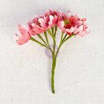 Prima - Flower Bundles Embellishments - Magenta
