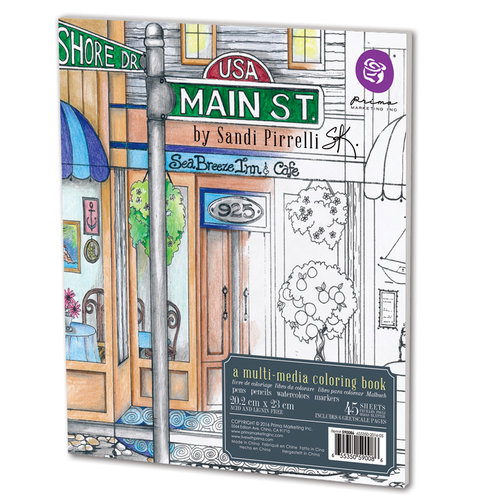 Prima - Coloring Book - Main Street