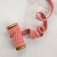 Prima - Christmas - Trim - Peppermint Lane - 15 Yards