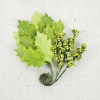 Prima - Flower Embellishments - Evergreen