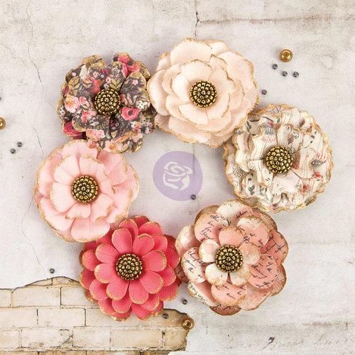 Prima - Rossibelle Collection - Flower Embellishments - Hazelbrook