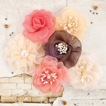 Prima - Rossibelle Collection - Flower Embellishments - Thistle