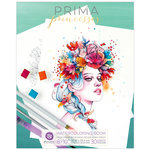 Prima - Coloring Book - Watercolor Paper - Princesses