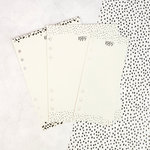 Prima - My Prima Planner Collection - Dry Erase Boards - Black N White