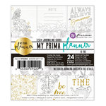Prima - My Prima Planner Collection - Coloring Journaling Cards - Be Free with Foil Accents
