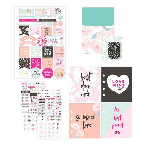 Prima - My Prima Planner Collection - Goodie Pack - Friendship and Love with Foil Accents