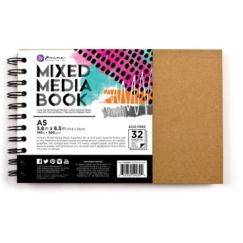 Prima - Mixed Media - Book