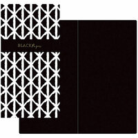 Prima - My Prima Planner Collection - Traveler's Journal - Notebook Refill - Black Paper