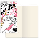 Prima - My Prima Planner Collection - Traveler's Journal - Notebook Refill - Mosaic