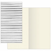 Prima - My Prima Planner Collection - Traveler's Journal - Notebook Refill - Modern Lines