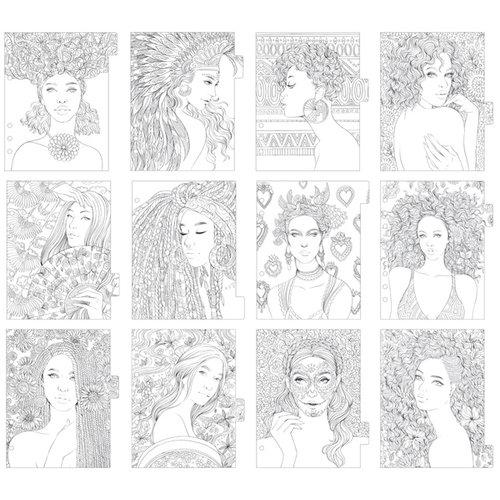 Prima - My Prima Planner Collection - Prima Princesses Dividers - One