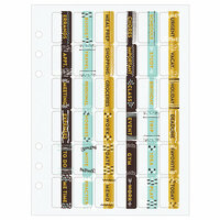 Prima - My Prima Planner Collection - Planner Tabs - Everyday Life with Foil Accents