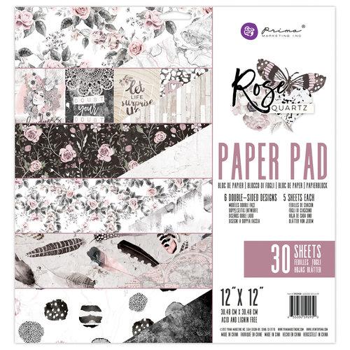 Prima - Rose Quartz Collection - 12 x 12 Paper Pad