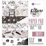 Prima - Rose Quartz Collection - 12 x 12 Paper Pad